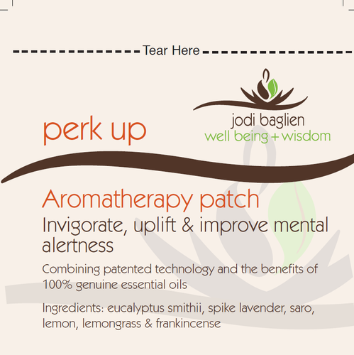Perk Up  Blend Aromatherapy Inhalation Patch