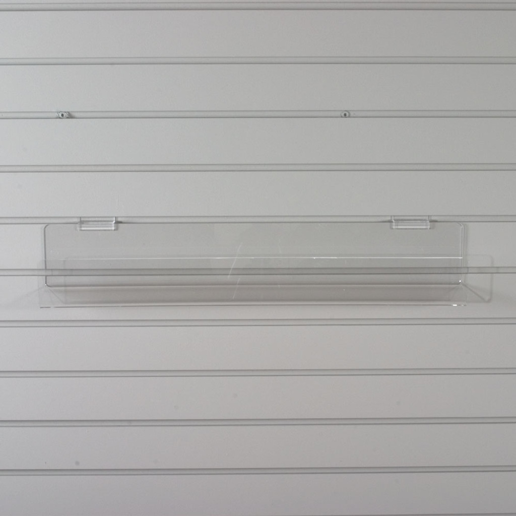 card shelf for slatwall