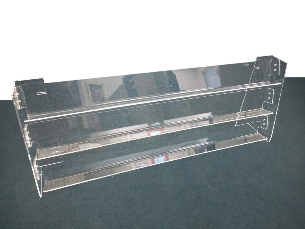 glass cabinet detail acrylic rack product display plexiglass countertop stand perfume