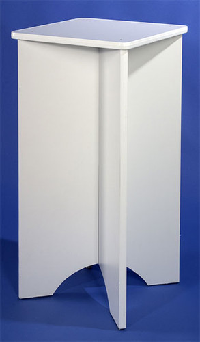 Multi-Use Pedestal WHITE (9320)