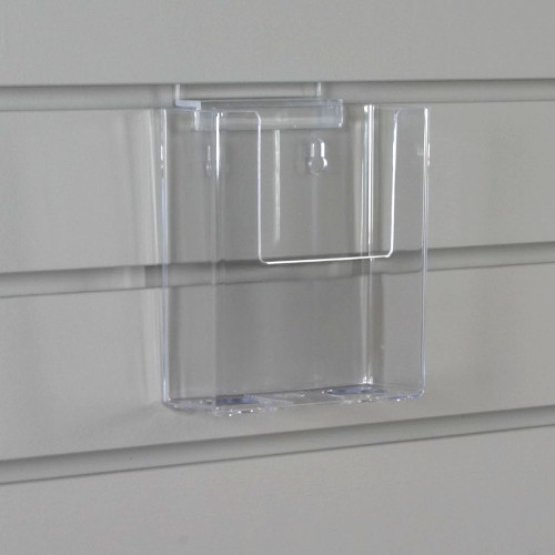 clear acrylic brochure holder