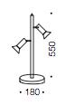 Pena LED Table Lamp