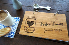 Family favorite recipe book by TheCuttingBoardShop