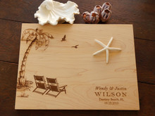 Beach chair cutting board from TheCuttingBoardShop