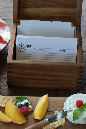Heirloom Personalized Recipe Box