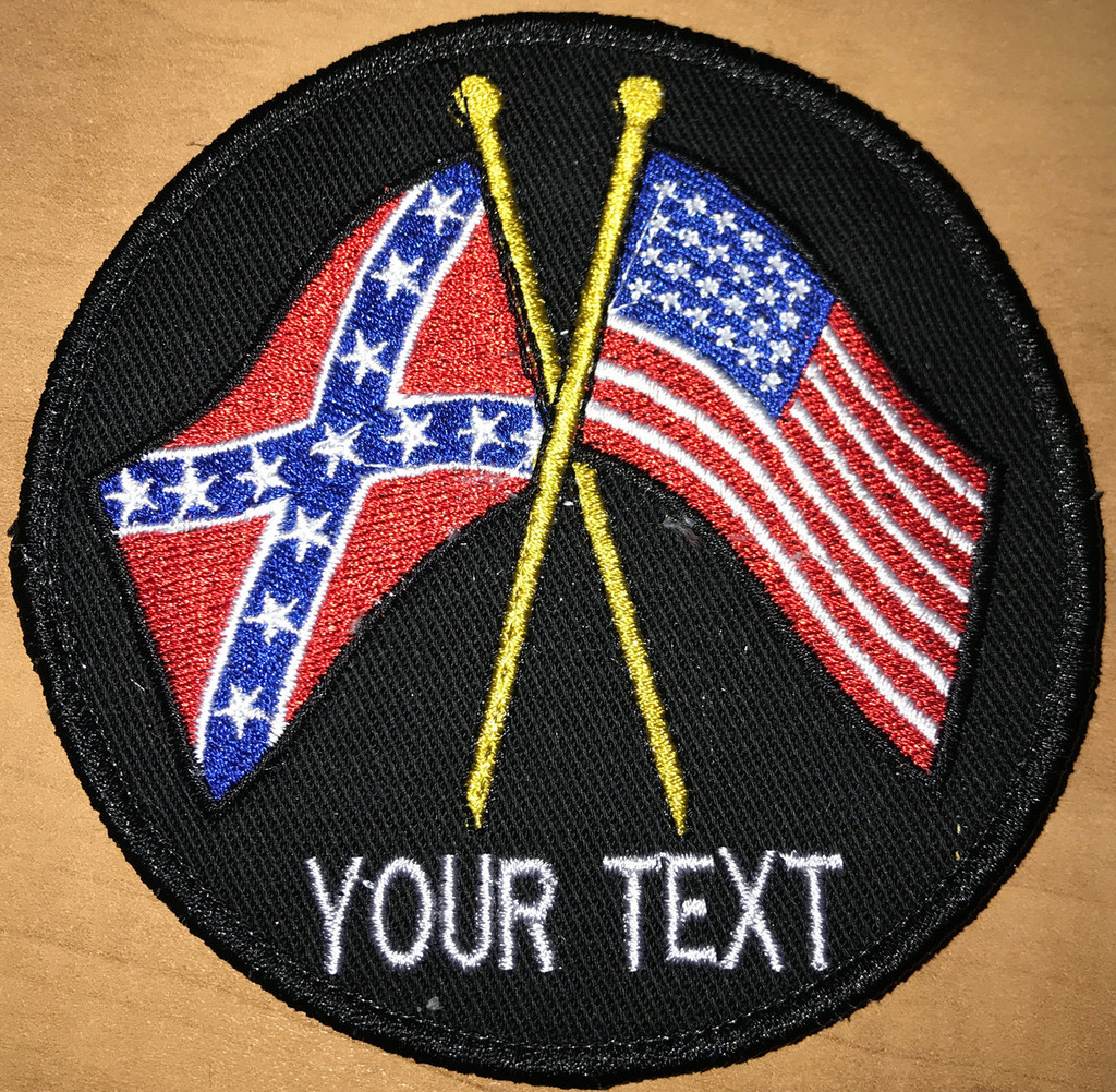 Custom Team Rebel American Patch
