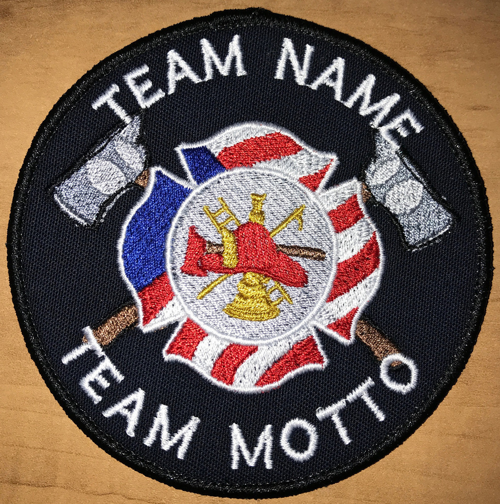 Custom Team Template Fire Fighter patch