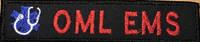 Merrowed Nametape - EMS Full color