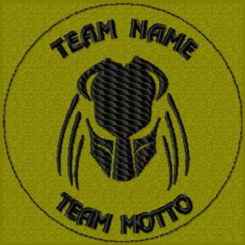 custom predator team patch