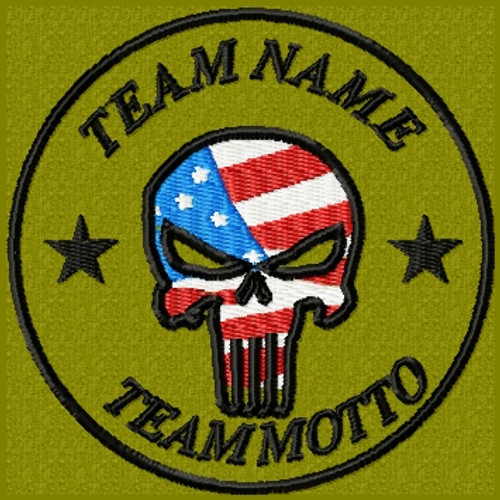 TEAM TEMPLATE - PUNISHER USA