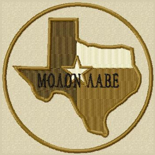 Molon Labe Patch Texas Subdued Tans