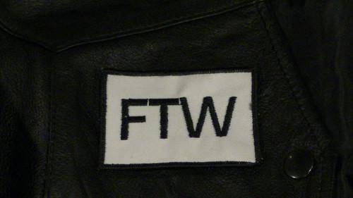 FTW Biker Patch