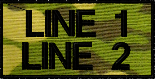 free text patch 2 lines on multicam tropic