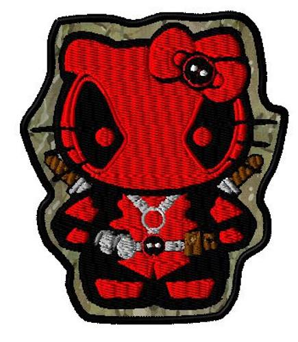 Hello Deadpool VELCRO® Brand patch