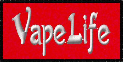 Customized Vape Life Ecig Patch