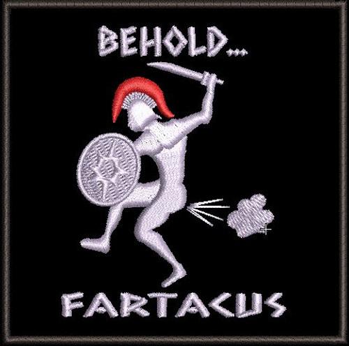 Fartacus Morale Patch