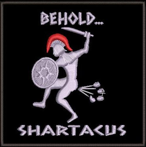 Shartacus Morale Patch