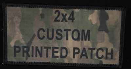 Printed Custom Patch 2x4
