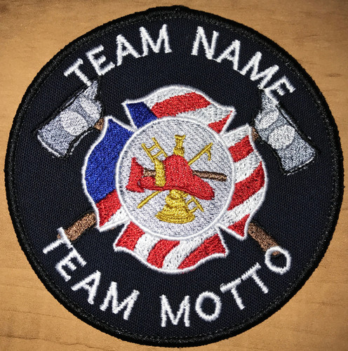 Custom Team Template Fire Fighter patch