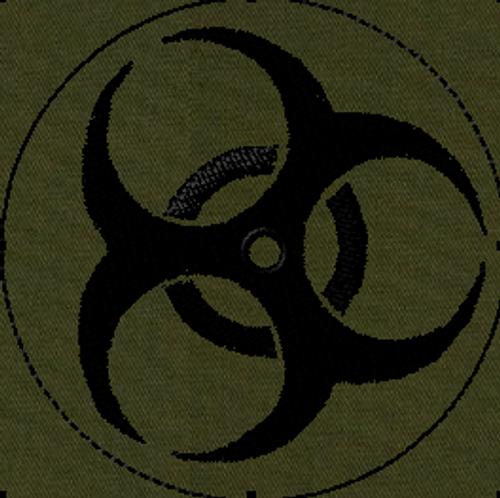 Biohazard VELCRO® Brand Patch
