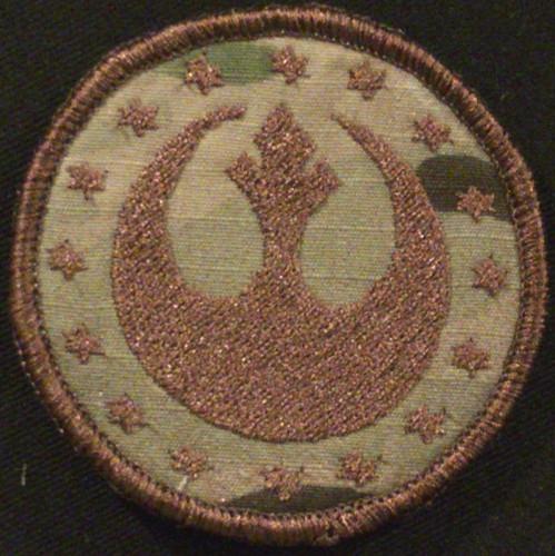star emblem morale patch in multicam
