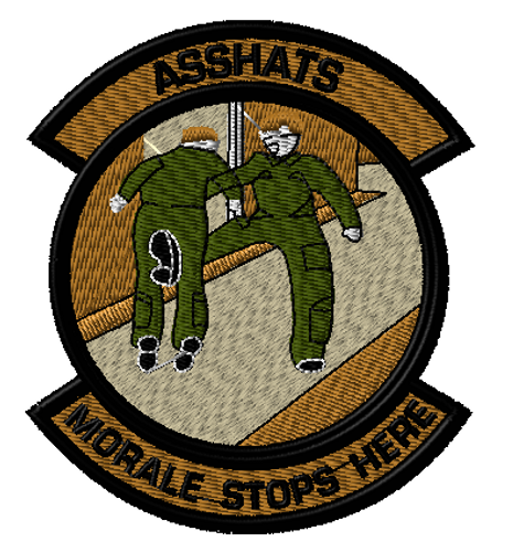 morale stops here ultimate morale patch in tans with OD uniforms