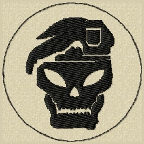 COD black ops skull VELCRO® Brand patch