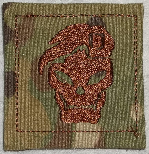 Rank Patch - COD Black OPS skull