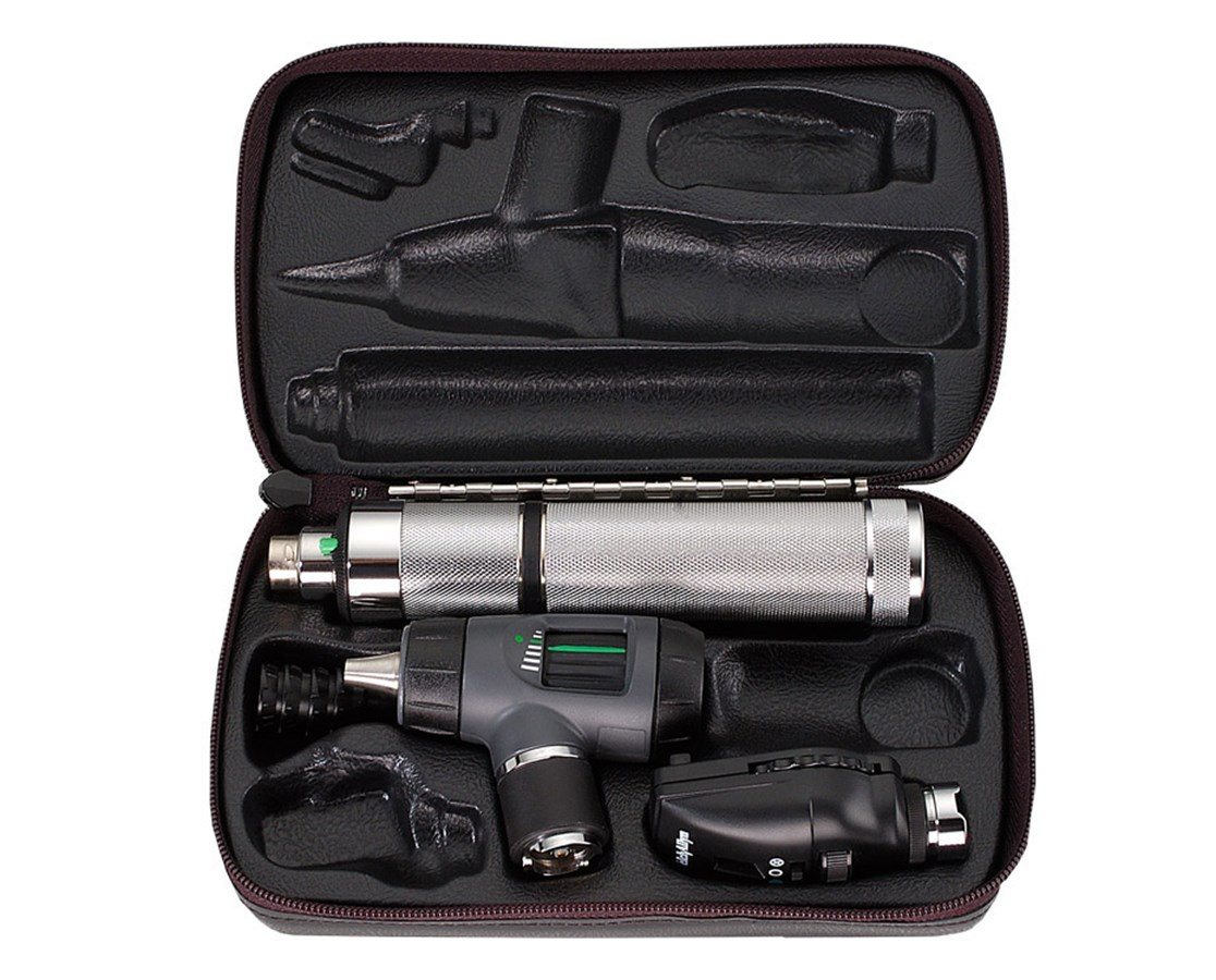 Welch Allyn Coaxial Ophthalmoscope Set Ref. 97200-MC