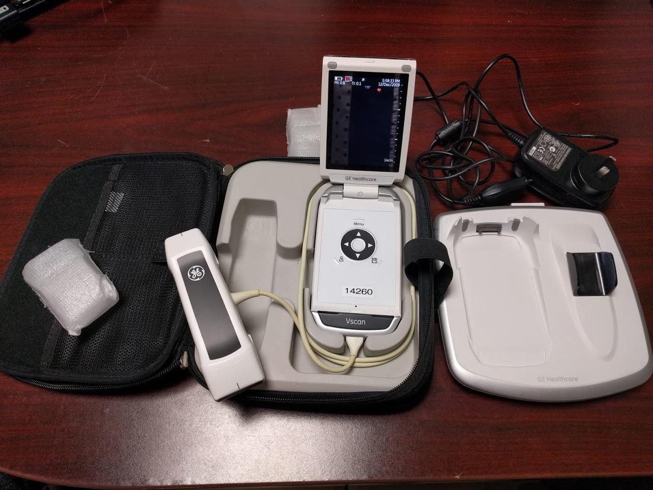 Used GE Vscan Hand Ultrasound- Dual Probe