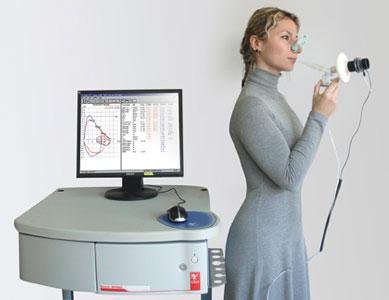 Spirometry Lab Cosmed Quark Spiro