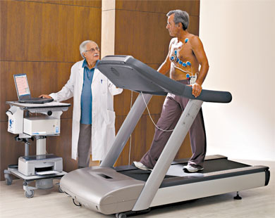 Quark CPET Test On Treadmill With ECG