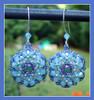 Bloom Earrings Instant Download Pattern