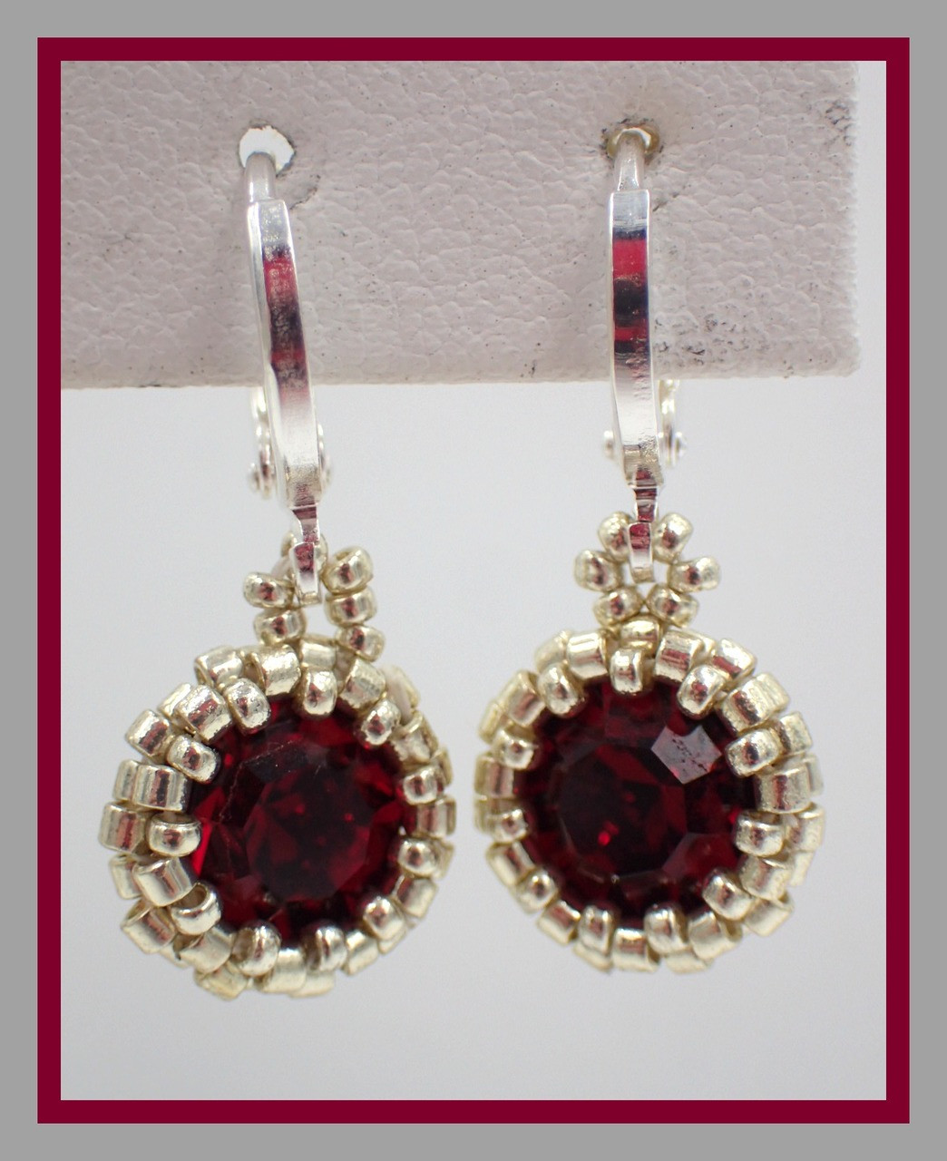 Step by Step Tutorials - Earrings Patterns - Page 1 - Off the Beaded ...