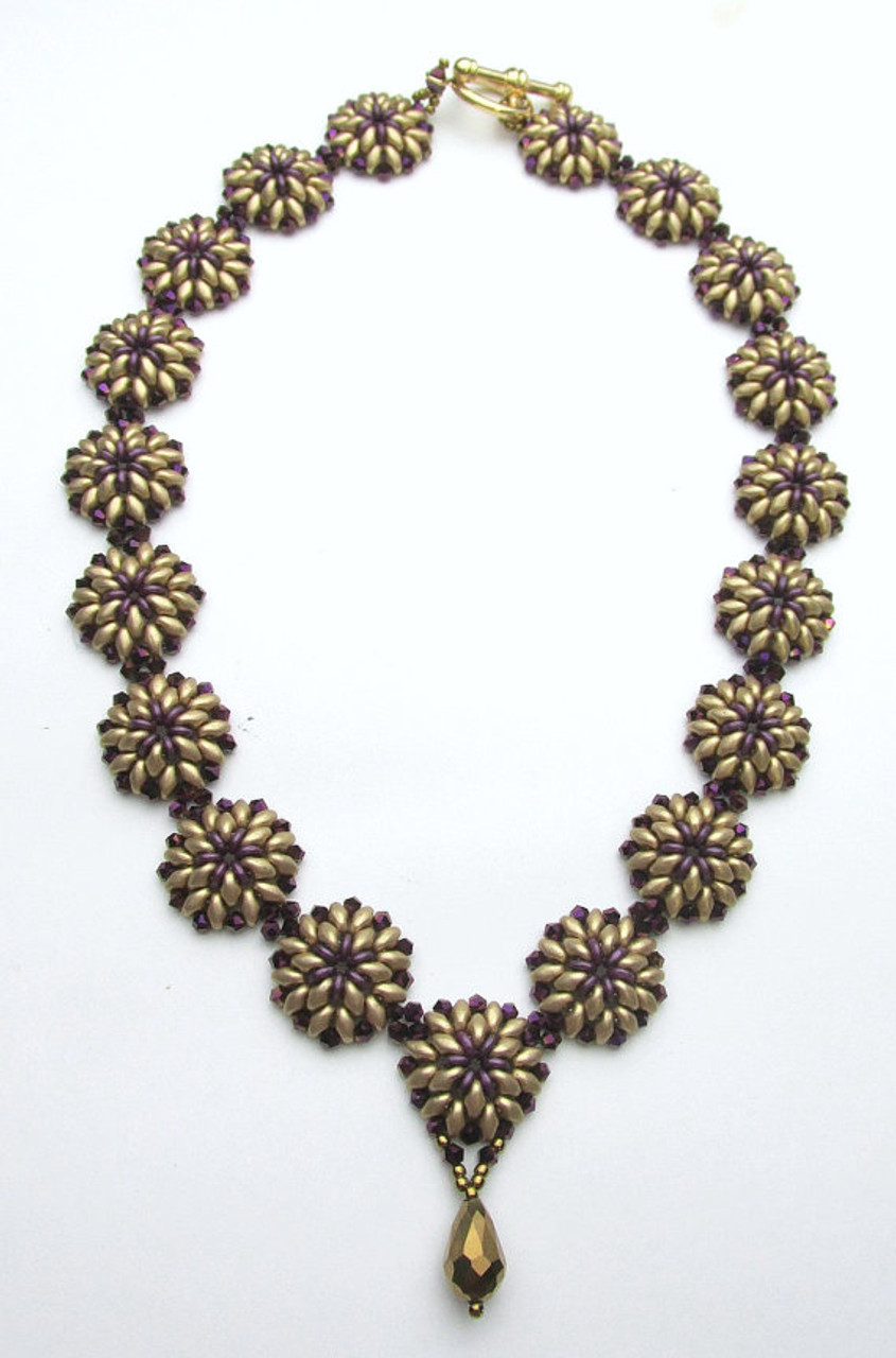 Oh Necklace Tutorial - Off the Beaded Path