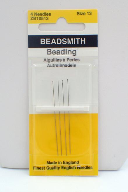 Beadsmith Size 13 needles 4pk