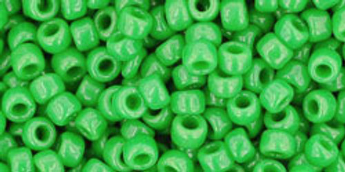 8/0 Toho Opaque Mint Green Seed Beads