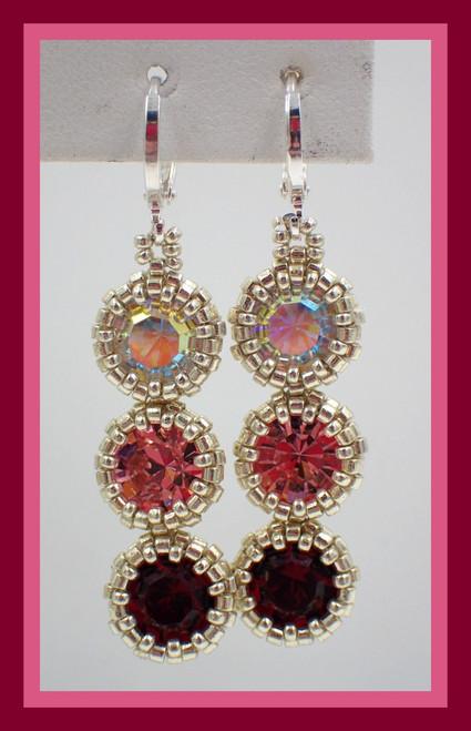 Pink Triplicity Earring Kit
