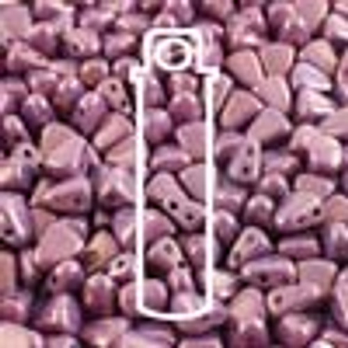 6x5mm Purple Vega Nib Bit Beads (23 Grams)