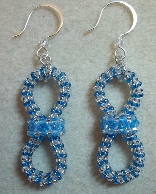 Fly by Night Earrings Tutorial - Off the Beaded Path