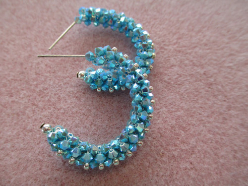 Lovely Laurie Hoop Earrings Tutorial