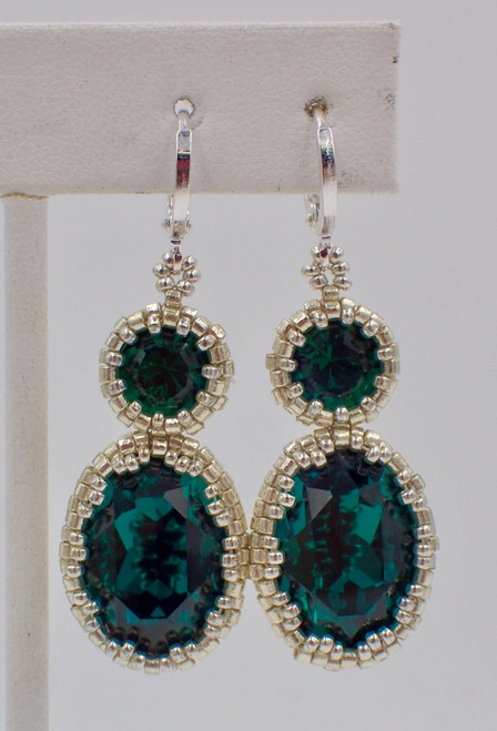 Emerald City Earring Instant Download Pattern