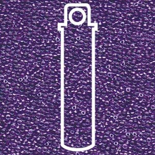 15/0 Sparkling Purple LIned Crystal Miyuki Seed Beads