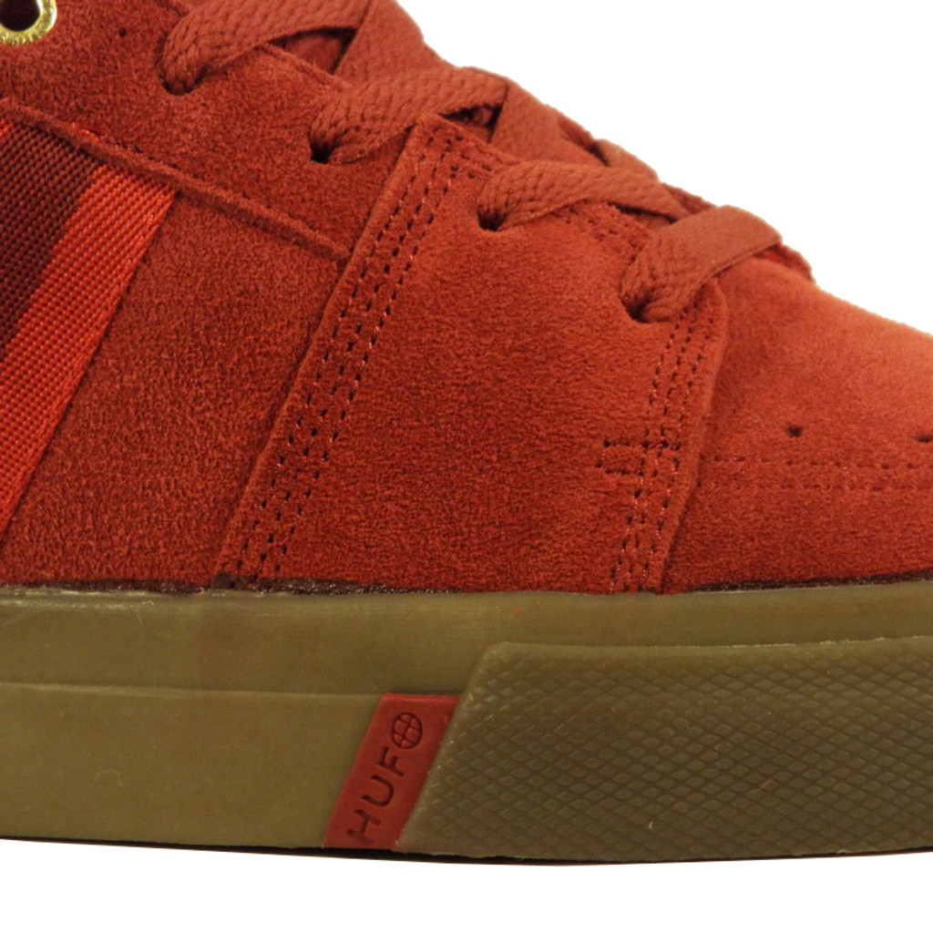 Huf Pepper Pro Shoes - Oxblood/Scarlet