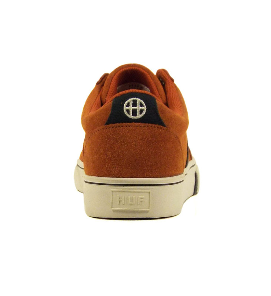 Huf Pepper Pro Shoes - Burnt Orange/Navy