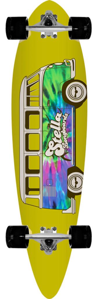 "Stella Dazed & Confused Blunt Nose Longboard Complete - 9.75"" x 38"""