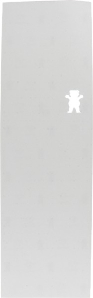 "Grizzly Clear 10"" Bear Cutout Griptape Sheet"