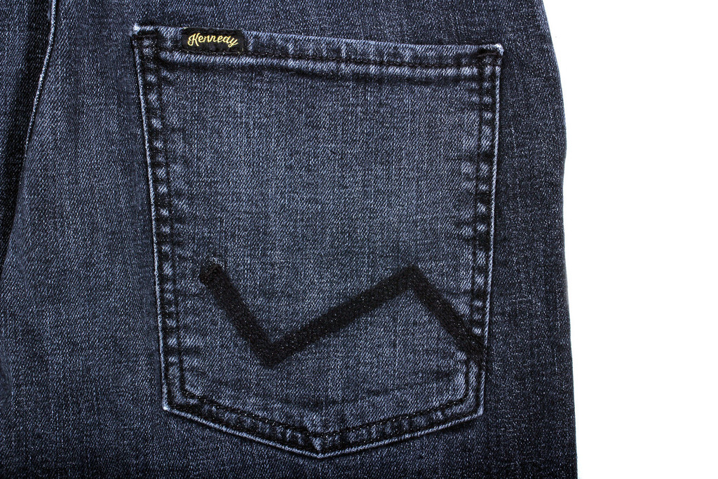 Kennedy Z-Line Jeans - Black Byrd
