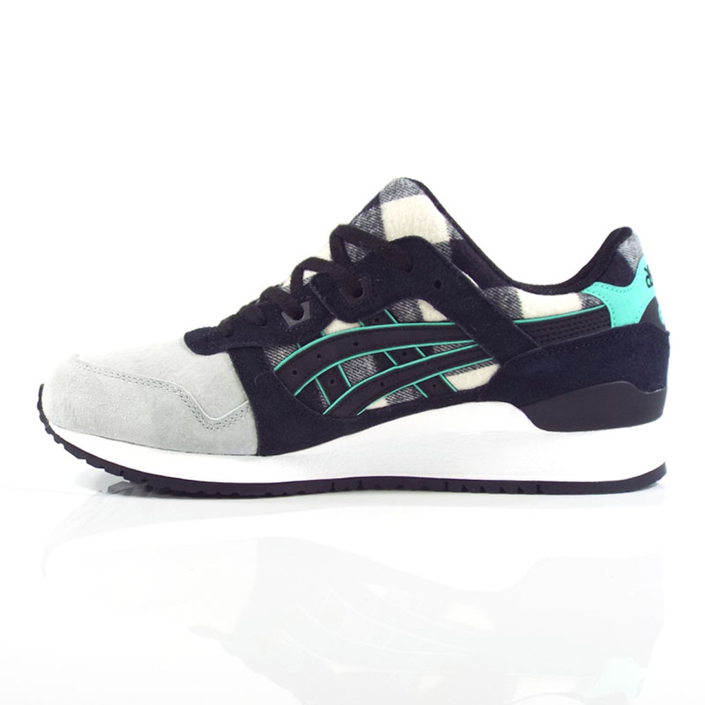 "Asics Gel-Lyte III Shoes - White/Black ""Lumberjack Pack"""