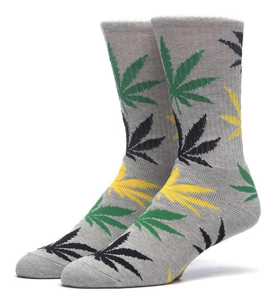 Huf Plantlife Crew Socks - Jamaica